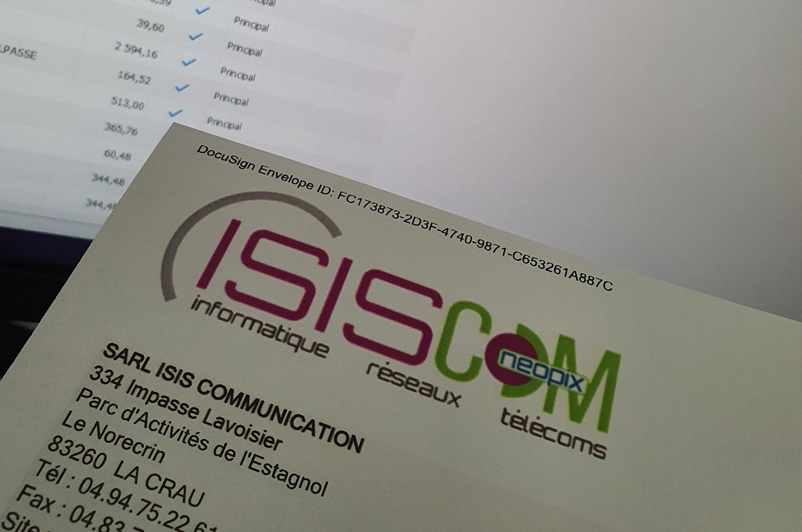 Profil d'ingénieur d'affaire chez isiscom
